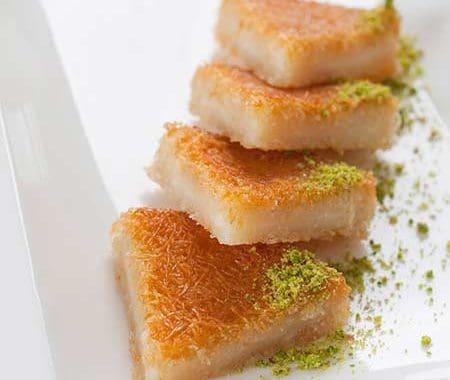 طريقة عمل الكنافة بالقشطة – حلويات