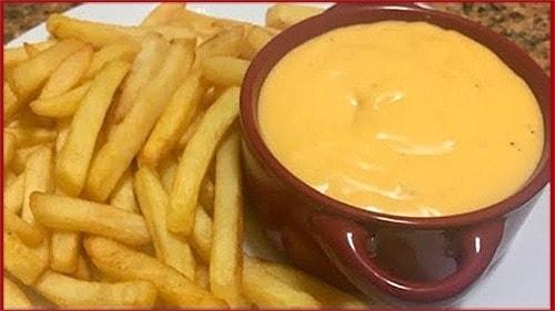 البطاطس الكرسبى وصوص الجبنة